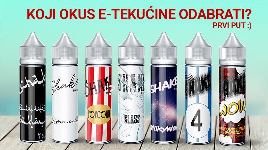 Najbolja duhanska e-tekućina
