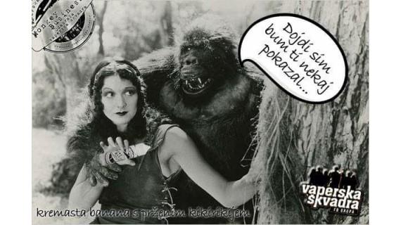 Vaperska Škvadra etekućina Monkey Business