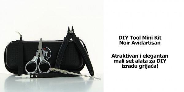 DIY Tool Mini Kit Noir Avidartisan