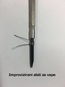Improvizirani alati za vape